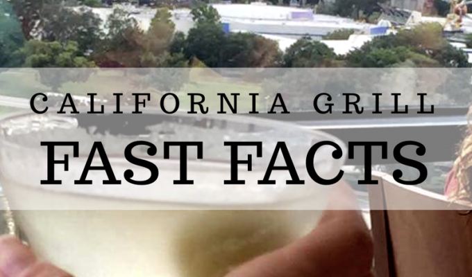 California Grill Fast Facts