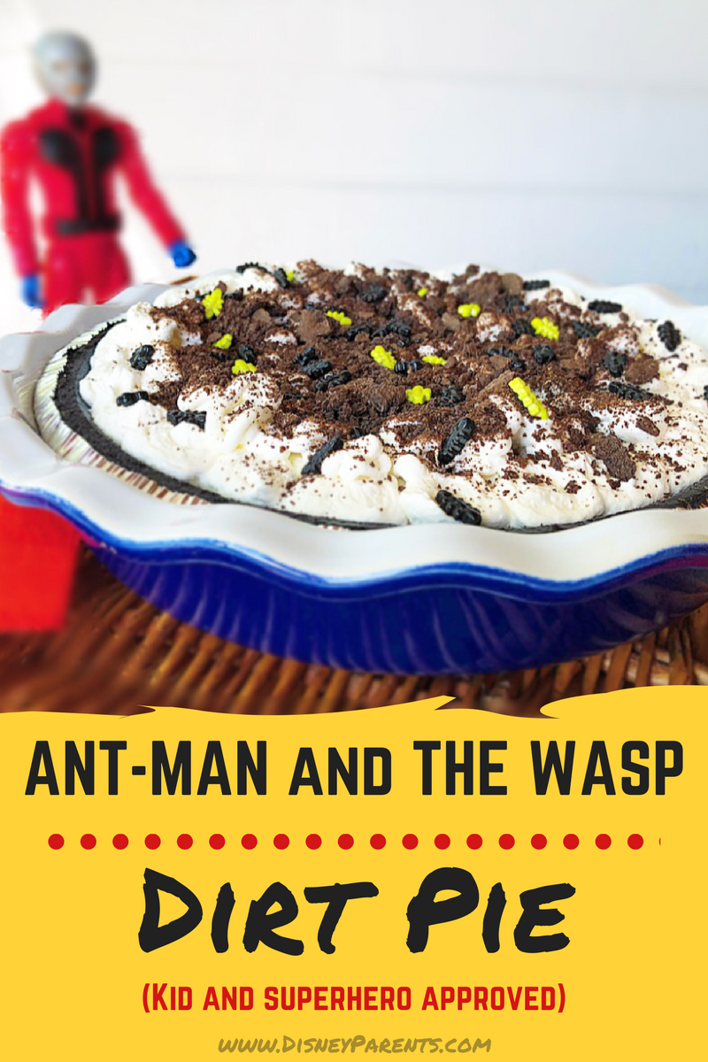 ANT-MAN dirt pie
